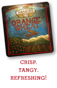 First Street Alehouse Pint Night Special—August 28, 2014—Hanger 24 Brewery's Orange Wheat